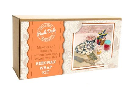 Beeswax Food Wrap/Cover Kit